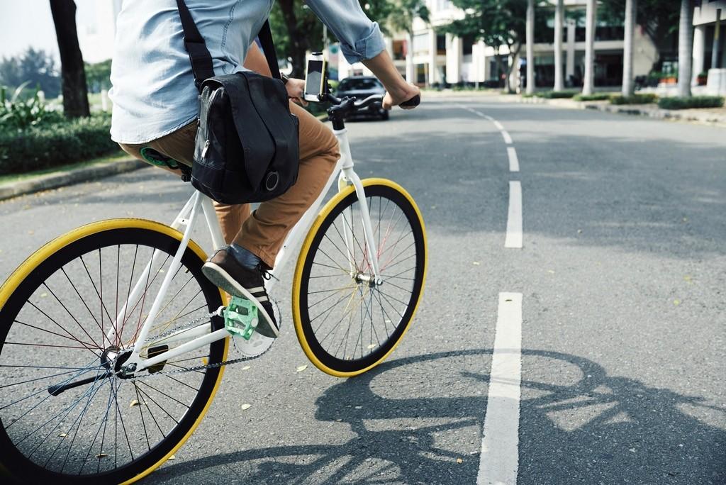 ciclista más vulnerable