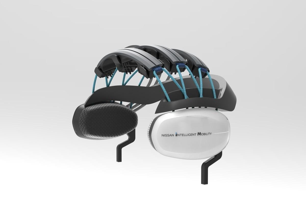 coche autónomo Nissan brain-to-vehicle