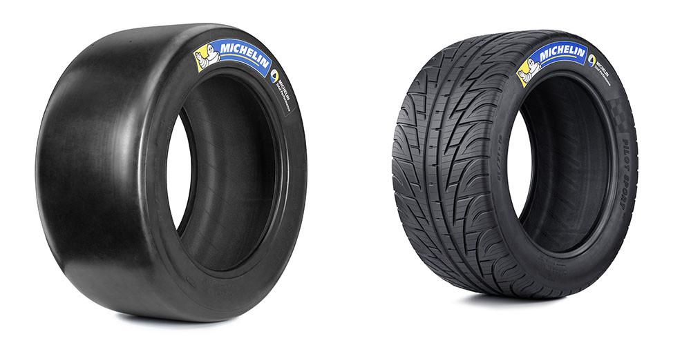 neumáticos de formula 1 y de calle