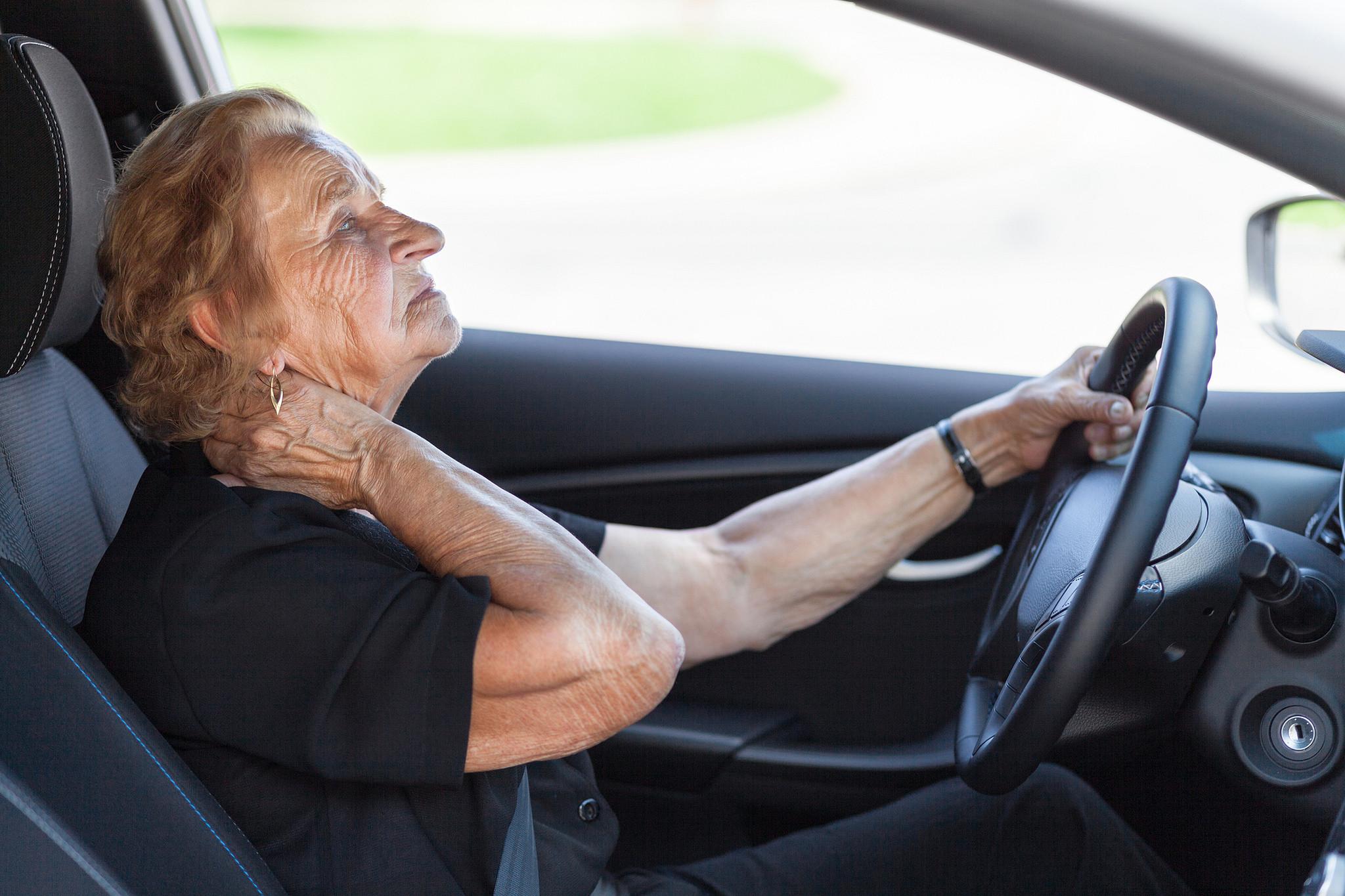 mayores y conducción