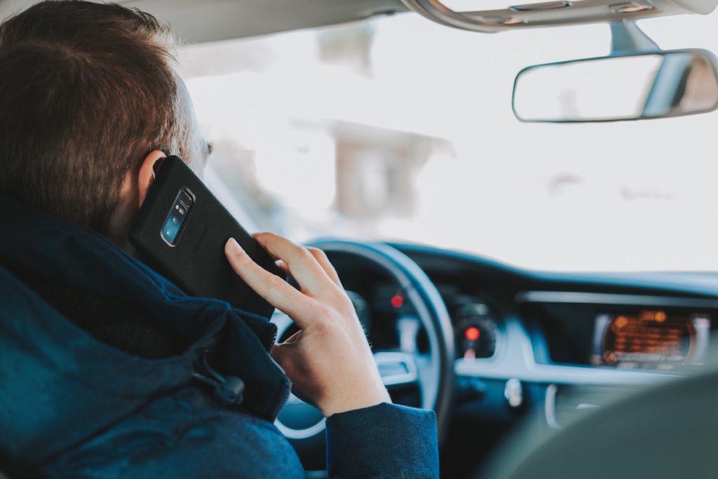 nomofobia conduciendo