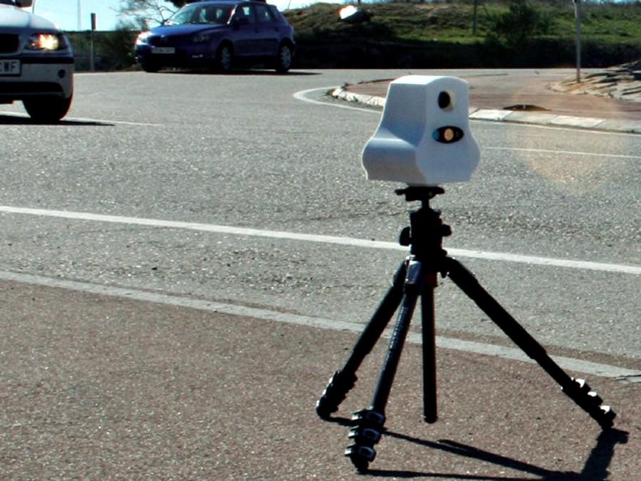 radar en un tripode