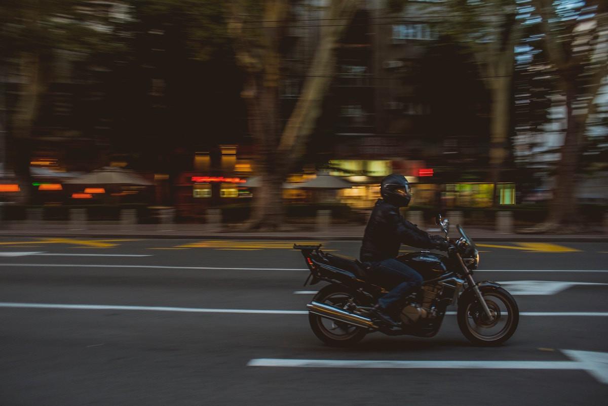 distintivo motocicleta