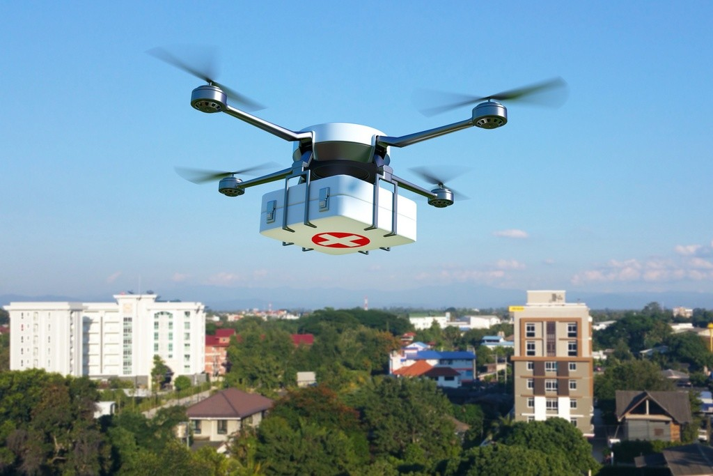 Drones en las smart cities