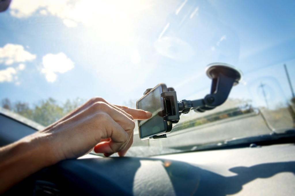 GPS navegador en el móvil