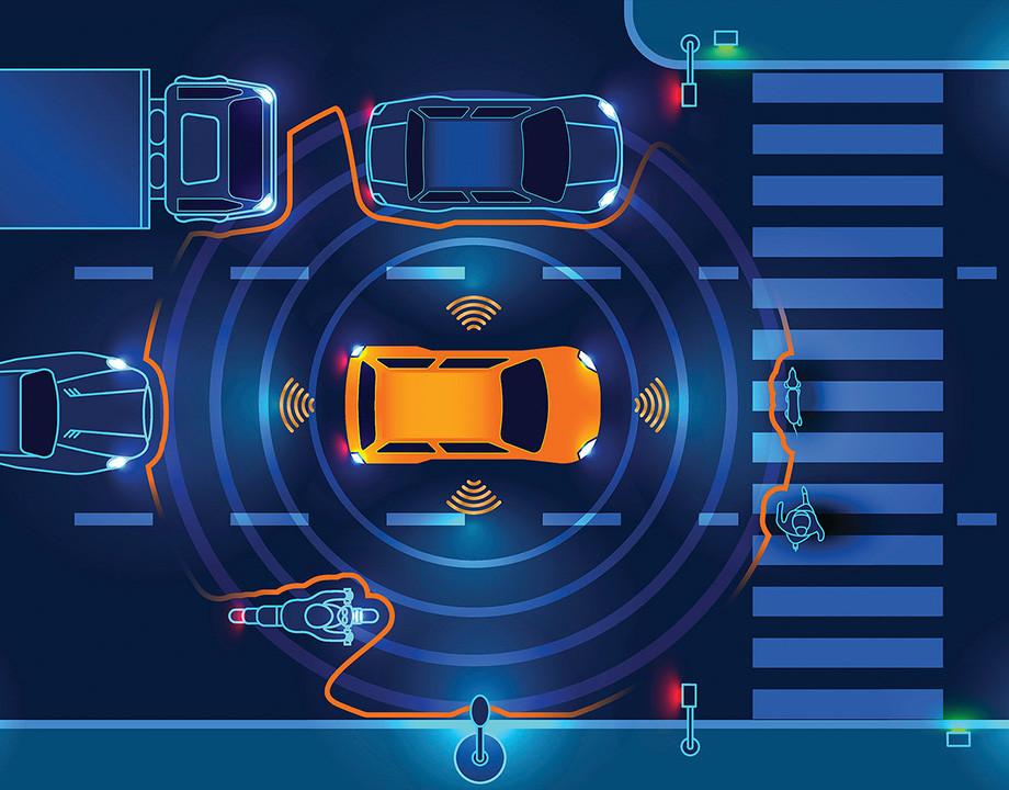 vehiculo conectado sensores