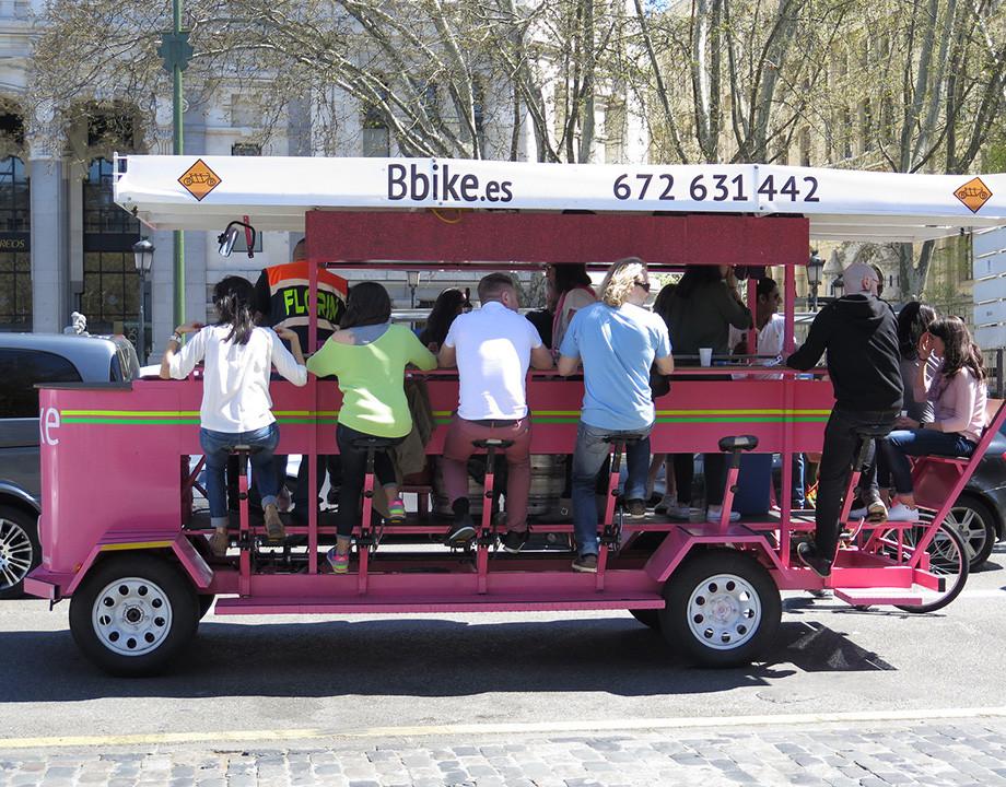 Ordenanza de Movilidad Sostenible bicicleta Madrid bicibirra
