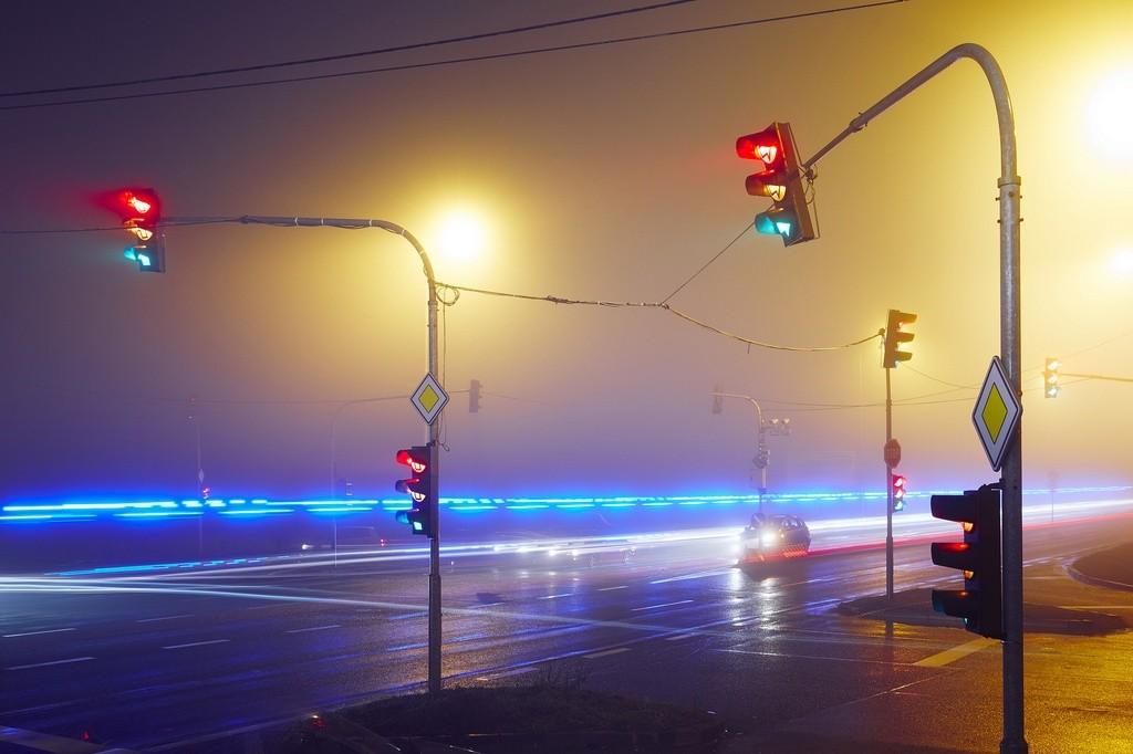 luz azul prioritario