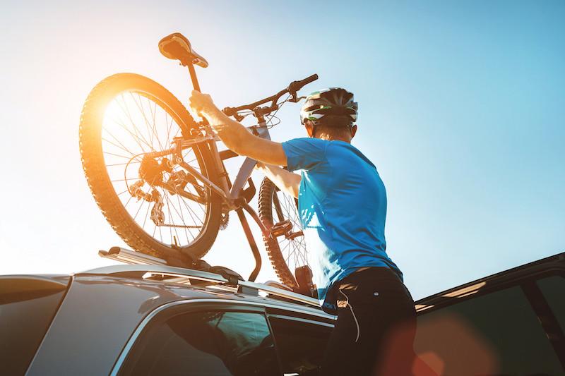 llevar bicicletas coche