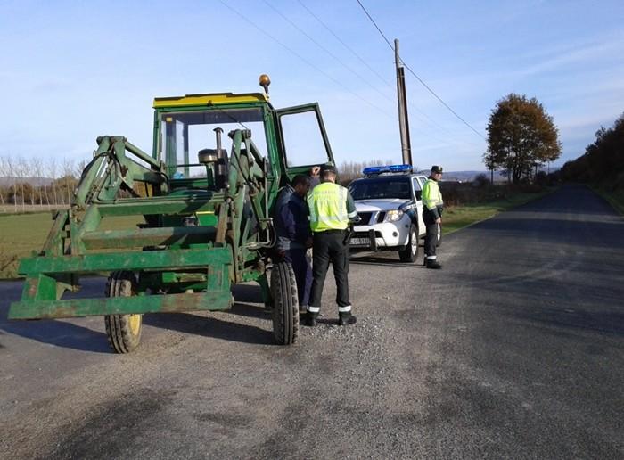 conducir tractor