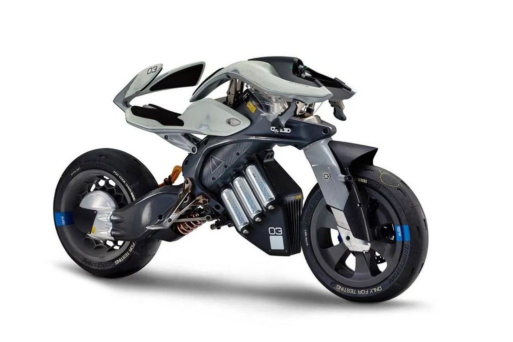 Motocicleta autónoma Yamaha