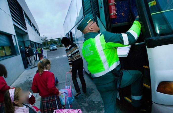 seguridad en los autobuses de transporte escolar
