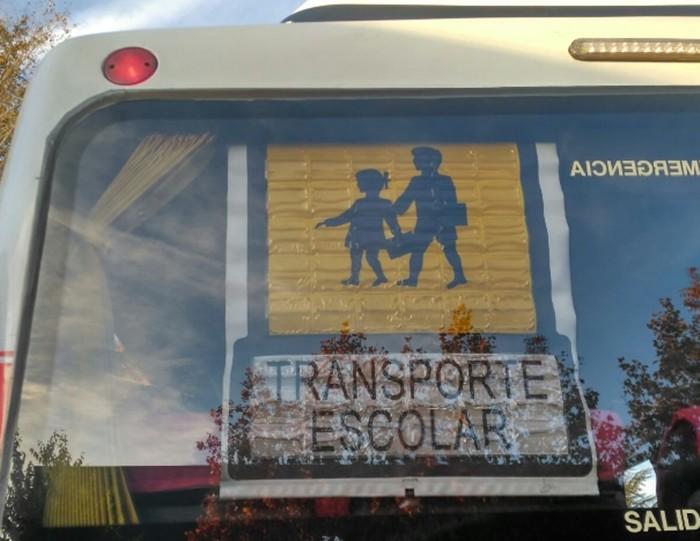 seguridad transporte escolar