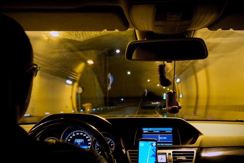 gafas amarillas conducir