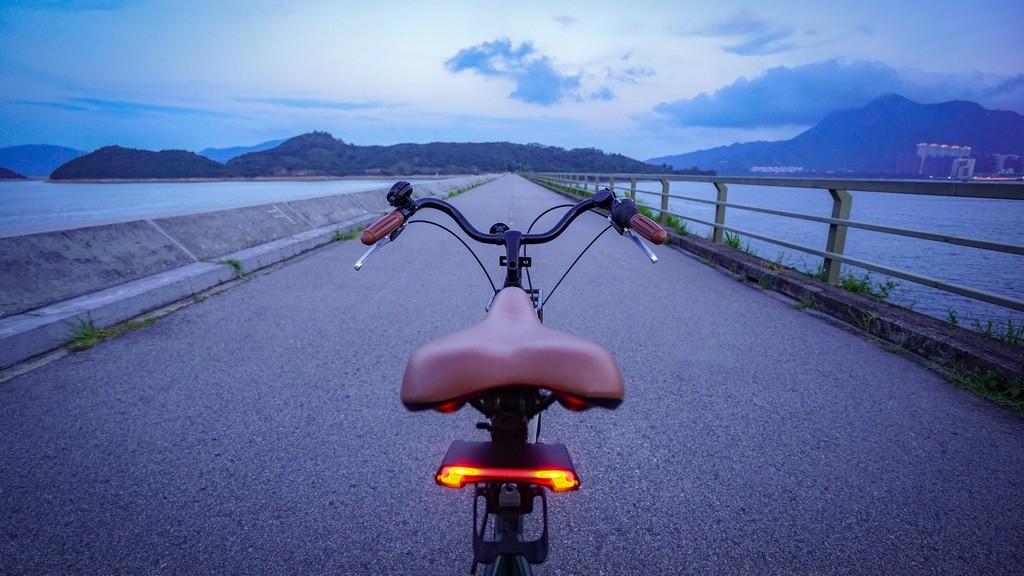 Intermitentes en bicicletas