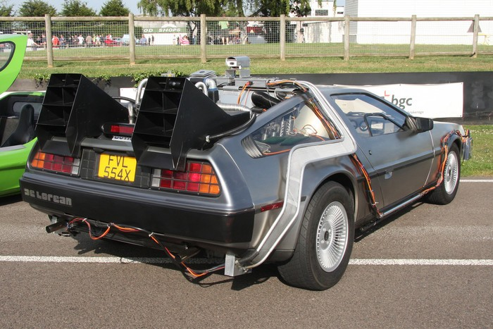 DeLorean de Marty McFly