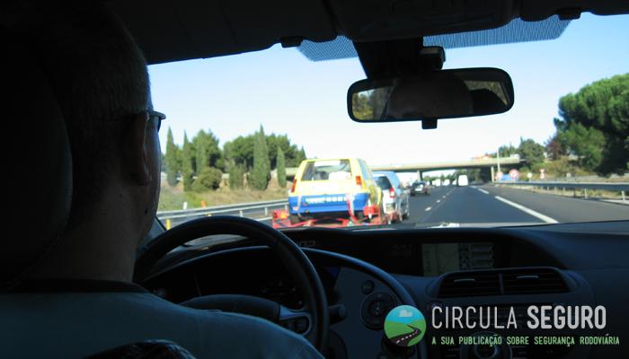 condução com GPS