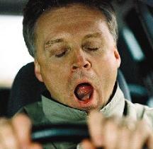 Conduzir com cansaço vs Dieta saudável para conduzir