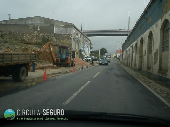 Obras e sinalização