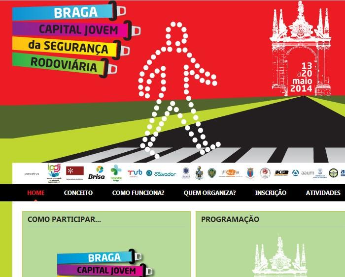 Braga Capital Jovem da Segurança Rodoviária