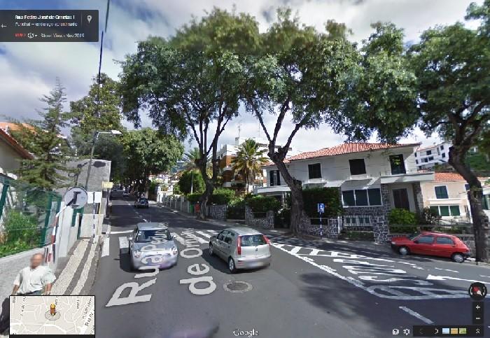 rua pedro josé de ornelas GOOGLE MAPS