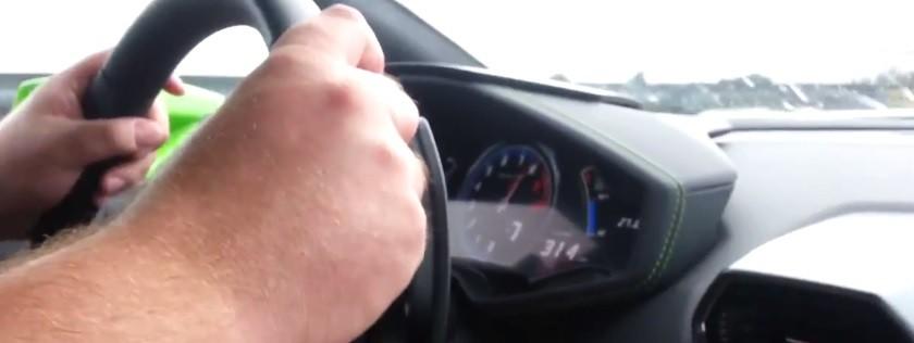 Lamborghini Huracan 314kmh