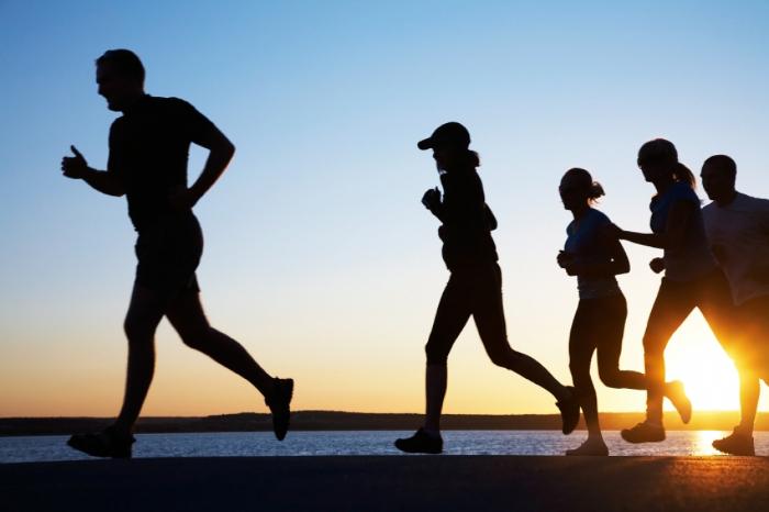 Fazer jogging em segurança, sem auxiliar auriculares