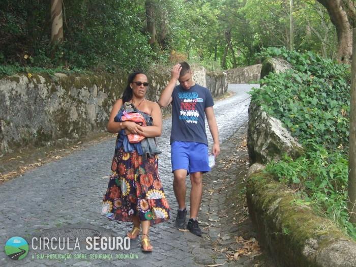 Sintra, zona de turis e de perigo elevado