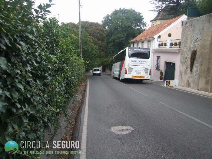 Sintra, zona de turismo e de perigo rodoviário elevado