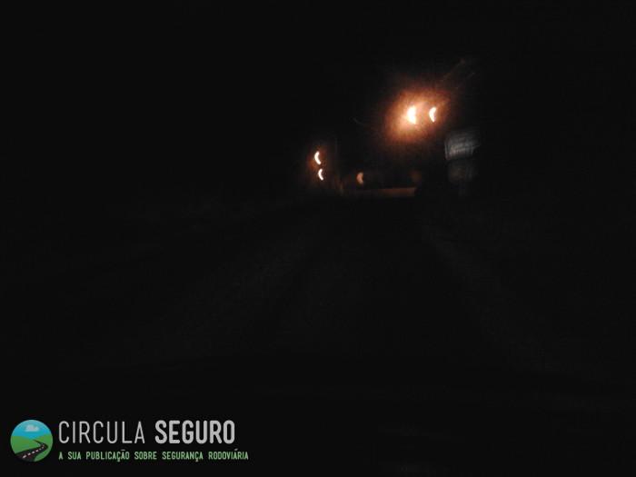 Os problemas da condução nocturna