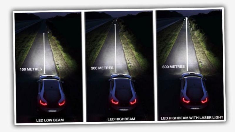 luzes laser - R19 Carros