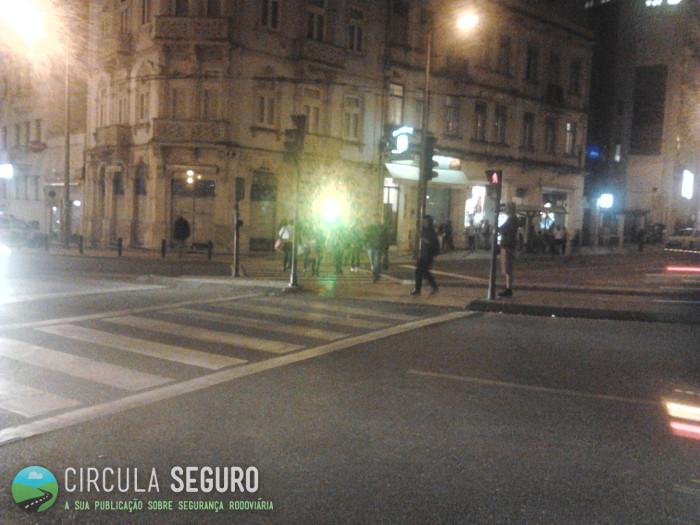 Circulação nocturna e respeito pela sinalização