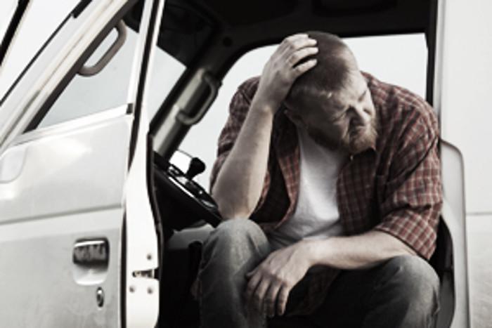 A depressão dos motoristas de pesados é real