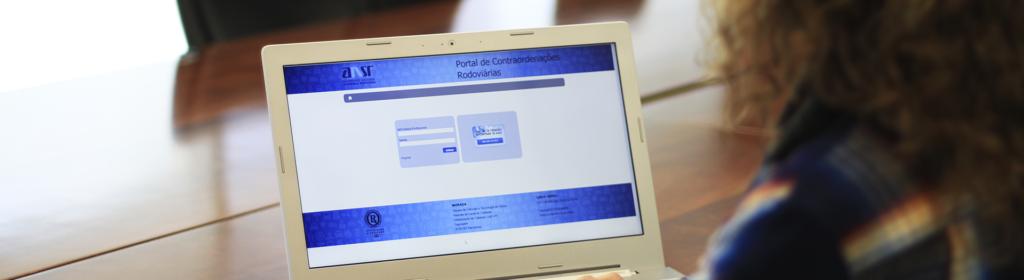 Portal de contraordenações da Autoridade Nacional de Segurança Rodoviária (ANSR)