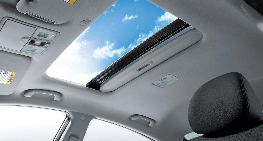 airbag teto panorâmico.