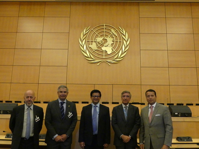 ONU, centro internacional de formação, segurança rodoviária, Espanha, RACE