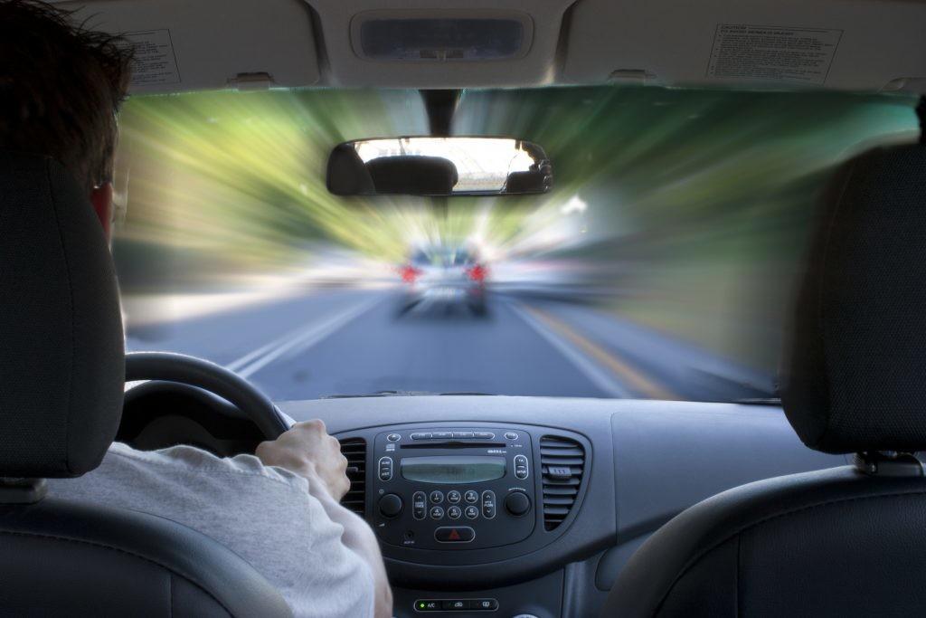 Problemas de visão, segurança rodoviária