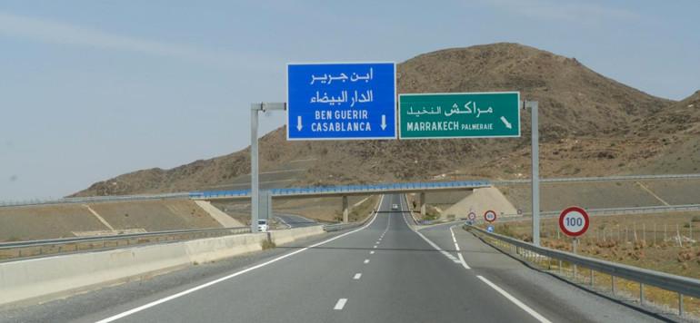 Marrocos, segurança rodoviária
