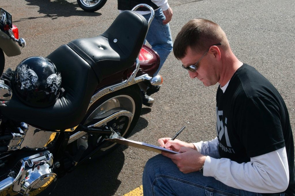 inspeções a motociclos