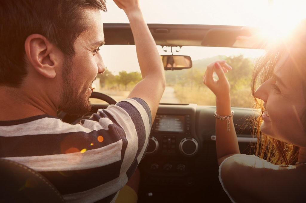 música no automóvel