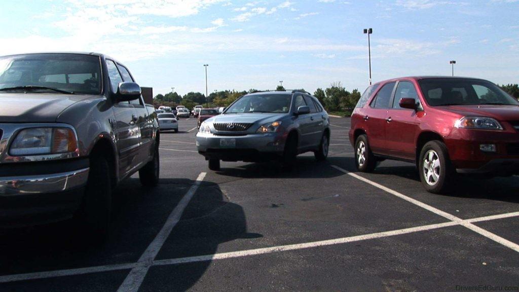 estacionar um automóvel