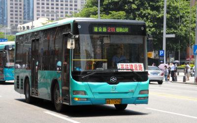 Shenzhen, la ciudad china que solo usa autobuses eléctricos