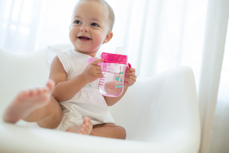 Vaso aprendizaje bebé