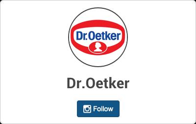 Dr.Oetker en Instagram