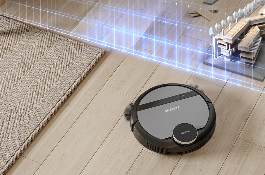 robot mapeo vivienda dibujo