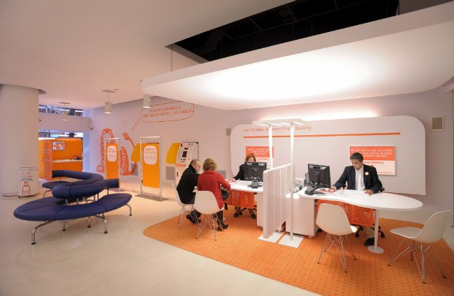 Desaprende qu es una oficina bancaria en naranja ing for Sucursales banco espana