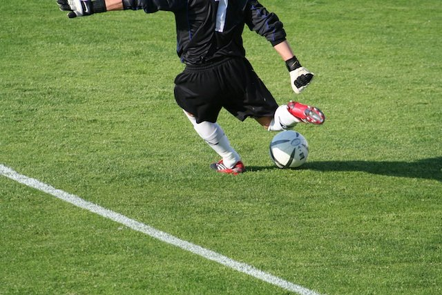 football goalkeeper