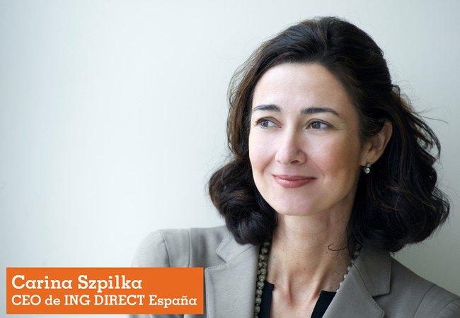 Carina Szpilka, directora general de ING DIRECT Spain