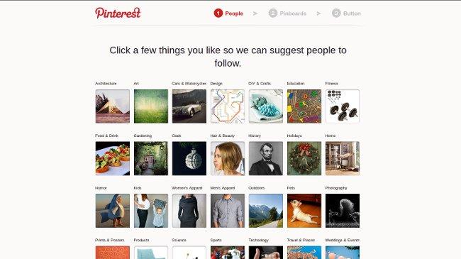 Pinterest, la red social aventaja a Twitter