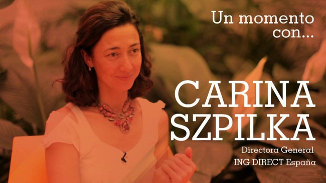 Carina Szpilka, CEO de ING DIRECT